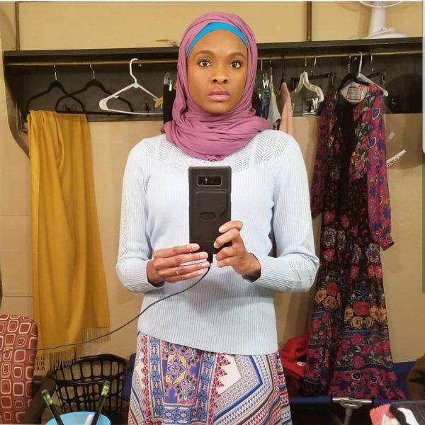 Sharon as Amina