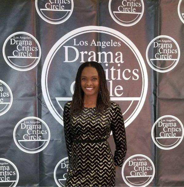 Sharon at the LA Critics Circle Awards