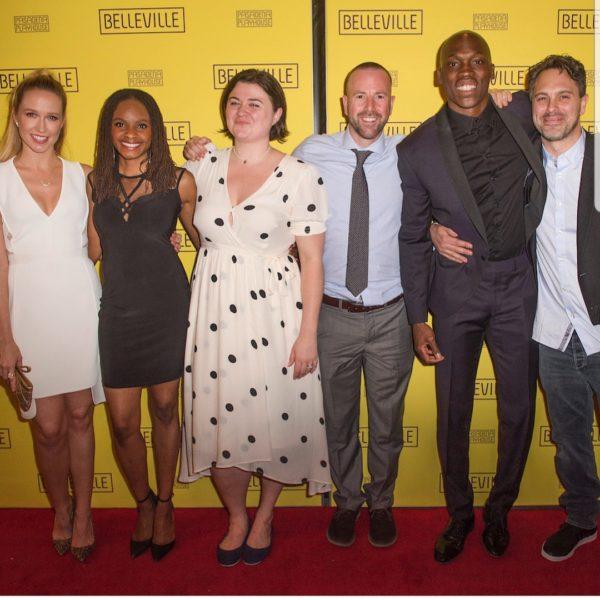 Sharon with Belleville's Cast